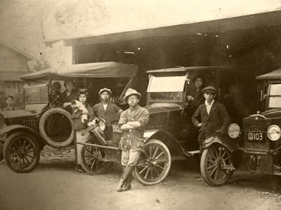 創業時代の写真