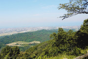 h23 9月27日 松倉城跡からの魚津の町