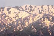 H23 5月13日 僧ヶ岳の雪絵 スポット写真