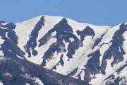 僧ケ岳の雪絵 スポット写真