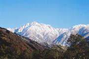 H24 11月16日 早月川からの剣岳 スポット写真